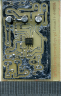 partly assembled ESR meter board